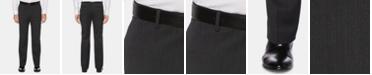 Perry Ellis Men's Portfolio Modern-Fit Performance Stretch Heathered Stripe Dress Pants