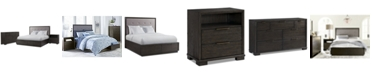 Furniture Morgan Storage Bedroom Furniture, 3-Pc. Set (King Bed, Nightstand & Dresser), Created for Macy's
