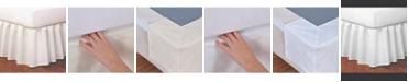 Fresh Ideas Magic Skirt Ruffled Queen Bed Skirt