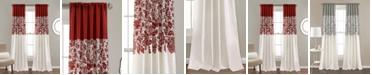 "Lush Decor Estate Garden Lace Print 52"" x 84"" Curtain Set"