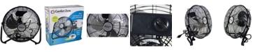 "Comfort Zone Czhv12B 12"" High Velocity Cradle Fan"