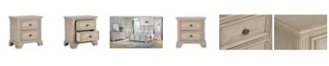Furniture Passages Light 2-Drawer Nightstand