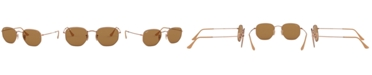 Ray-Ban HEXAGONAL Sunglasses, RB3548N 54
