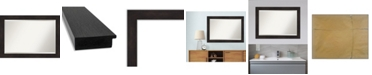 "Amanti Art Furniture Framed Bathroom Vanity Wall Mirror, 41.38"" x 29.38"""