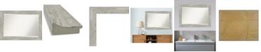 "Amanti Art Dove Framed Bathroom Vanity Wall Mirror, 41.88"" x 29.88"""
