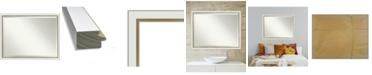 "Amanti Art Eva Gold-tone Framed Bathroom Vanity Wall Mirror, 43.12"" x 33.12"""