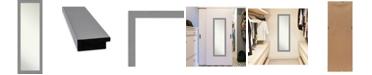 "Amanti Art Brushed on The Door Full Length Mirror, 17.5"" x 51.50"""