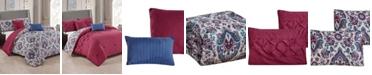 Olivia Gray Lancaster 5-Piece Reversible Queen Comforter Set