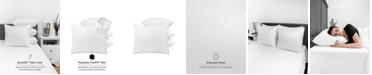 SensorPEDIC Embossed SensoSoft Jumbo Bed Pillow - 4 Pack