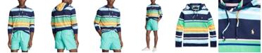 Polo Ralph Lauren Men's Striped Jersey Hooded T-Shirt
