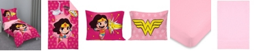NoJo Wonder Woman 4-Piece Toddler Bedding Set