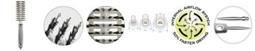 "Olivia Garden Ceramic Ion Turbo Vent Combo CITV-COPT Hair Brush, 2"" Petite"