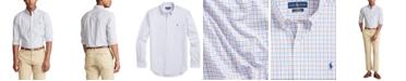 Polo Ralph Lauren Men's Big & Tall Tattersall Shirt