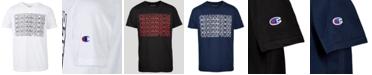 Champion Big Boys Block Letter Logo T-Shirt