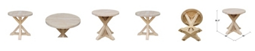 International Concepts Sierra Round End Table
