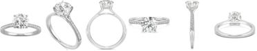 Charles & Colvard Moissanite Engagement Ring (1-5/8 ct. t.w. DEW) in 14k White Gold