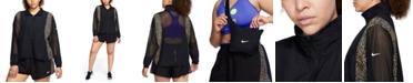 Nike Plus Size Icon Clash Running Jacket