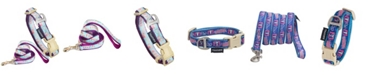 Touchdog 'Bone Patterned' Tough Stitched Embroidered Collar and Leash Small