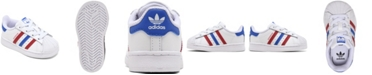 adidas Toddler Boys Superstar Casual Sneakers from Finish Line