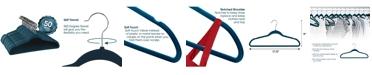 Elama 50-Pc. Velvet Hanger Set