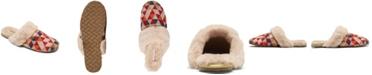 Skechers Women's Cleo Cozy Aztek Slip-On Faux Fur Comfort Slippers from Finish Line