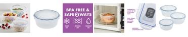 Lock n Lock Easy Essentials 6-Pc. Nested Bowl Food Storage Set