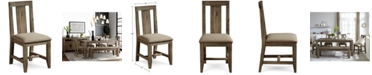Furniture Canyon Dining Panel Back Chair, Created for Macy's