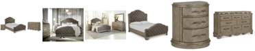 Furniture Zarina Bedroom Furniture, 3-Pc. Set (King Bed, Dresser & Nightstand)