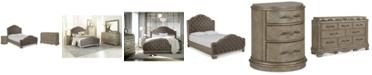Furniture Zarina Bedroom Furniture, 3-Pc. Set (California King Bed, Dresser & Nightstand)