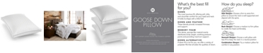 Hotel Collection European White Goose Down Soft King Pillow, Created for Macy's