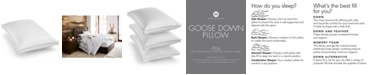 Hotel Collection European White Goose Down Soft Standard Pillow, Created for Macy's