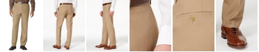 Lauren Ralph Lauren Wool Blend Flat-Front Performance Pants