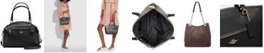 COACH Prairie Satchel in Pebble Leather