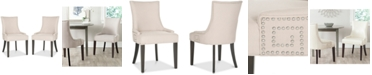 Safavieh Mantell Dining Chairs With Nailhead Trim (Set Of 2)
