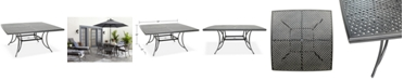 "Furniture 64"" x 64"" Outdoor Dining Table (Grove Hill II, Vintage II & Glenwood), Created For Macy's"