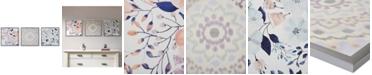 JLA Home Intelligent Design 'Summer Bliss' Gel-Coated Decorative Boxed Wall Art, Set of 3