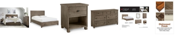 Furniture Canyon Platform Bedroom Furniture, 3 Piece Bedroom Set, Created for Macy's,  (Full Bed, Dresser and Nightstand)