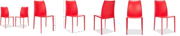 Furniture Olanta Stacking Chairs (Set Of 2), Quick Ship