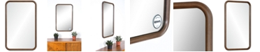 Furniture Dickens Wood Wall Mirror, Quick Ship