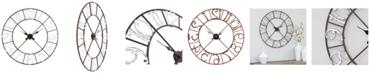 Aspire Home Accents Zandra Metal Wall Clock