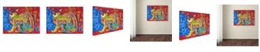 """Trademark Global Oxana Ziaka 'Middle Ages' Canvas Art - 19"""" x 14"""" x 2"""""""