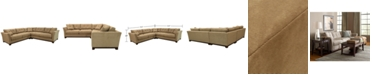 Furniture Michelle 3-Pc. Sectional, Created for Macy's