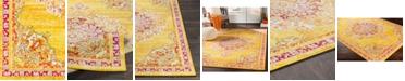 "Abbie & Allie Rugs Morocco MRC-2325 Saffron 18"" Area Rug Swatch"