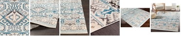 """Surya Notting Hill NHL-2308 Teal 18"""" Square Swatch"""