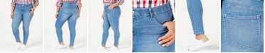 Tommy Hilfiger Plus Size Skinny Jeans, Bedford Wash