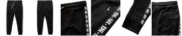 H4X Men's Logo Side-Stripe French Terry Joggers
