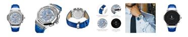 Jbw Men's 10 YR Anniversary Saxon Diamond (1/6 ct.t.w.) & Stainless Steel Watch