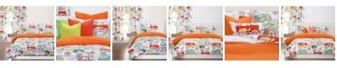 Crayola Four Wheelin' 5 Piece Twin Luxury Duvet Set