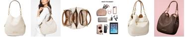 Michael Kors Lillie Signature Chain Shoulder Tote