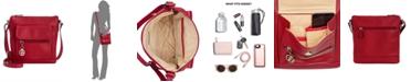 Giani Bernini Pebble Leather Crossbody, Created for Macy's